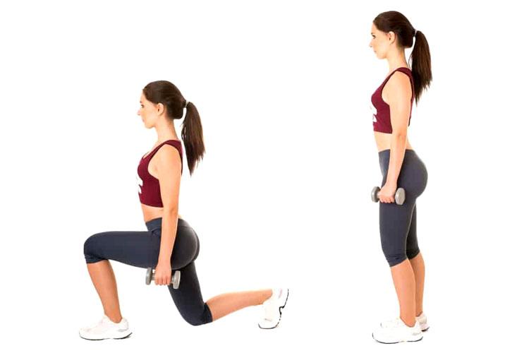 Les fentes, exercices pour avoir de plus gros muscles fessiers
